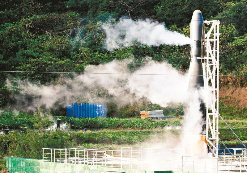 火箭發射主管機關至今仍未定,國發會主委龔明鑫昨到台東表示,可能是科技部主管,他會再溝通。 圖/聯合報系資料照片