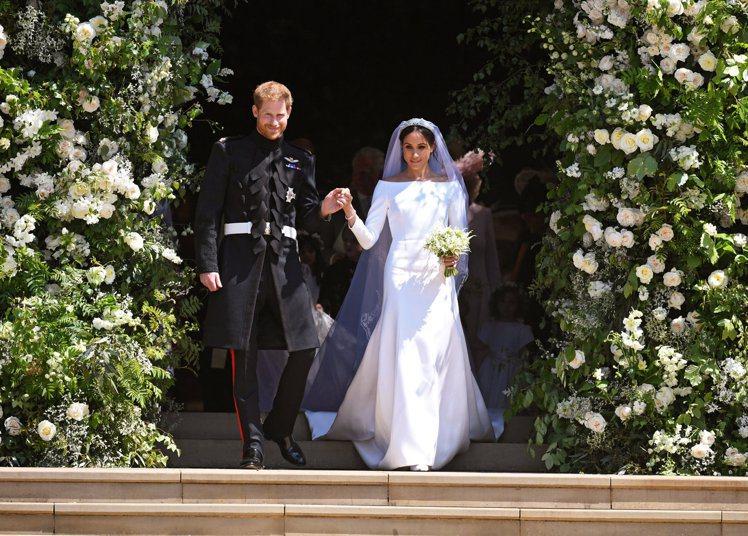 哈利與梅根婚禮已經暗藏家族間不合的玄機。圖/路透資料照片
