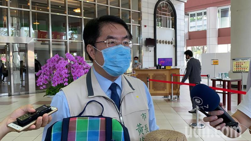 遠見雜誌今天公布2020年縣市首長滿意度調查,台南市長黃偉哲施政滿意度高達八成一。記者鄭維真/攝影