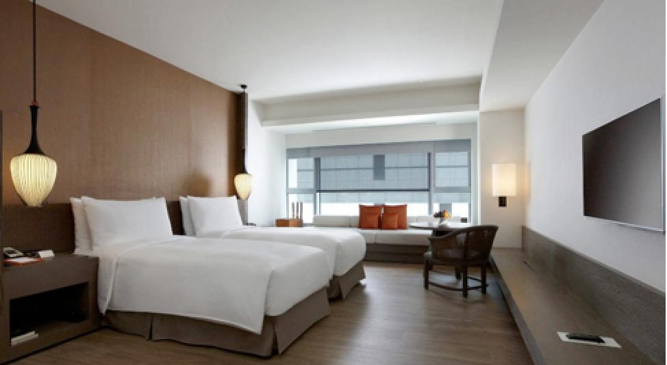台南晶英酒店。圖/東南旅遊提供