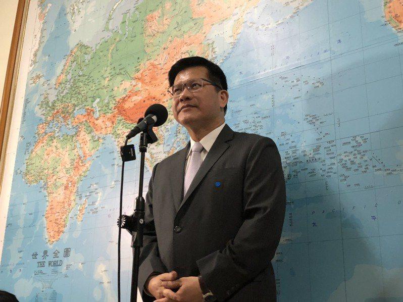 交通部長林佳龍。 記者邱瓊玉/攝影