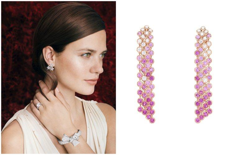 梵克雅寶提供洋溢春天幸福感的婚禮珠寶為六月新娘見證幸福。圖/梵克雅寶提供