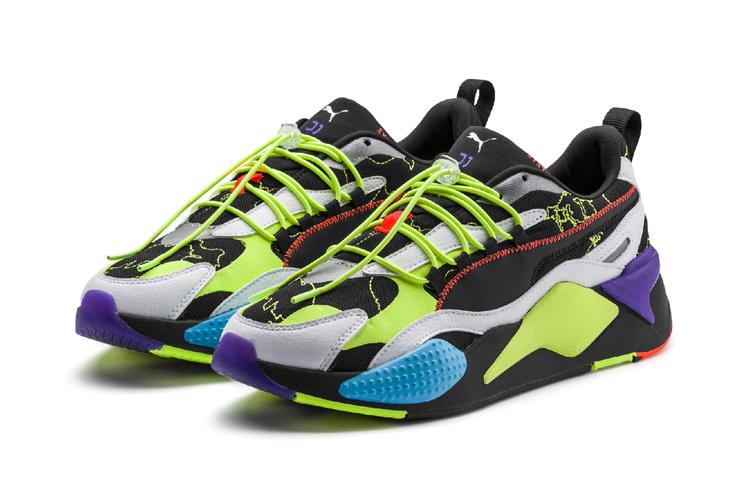 PUMA Central Saint Martins聯名環保系列RS-X³鞋4,...