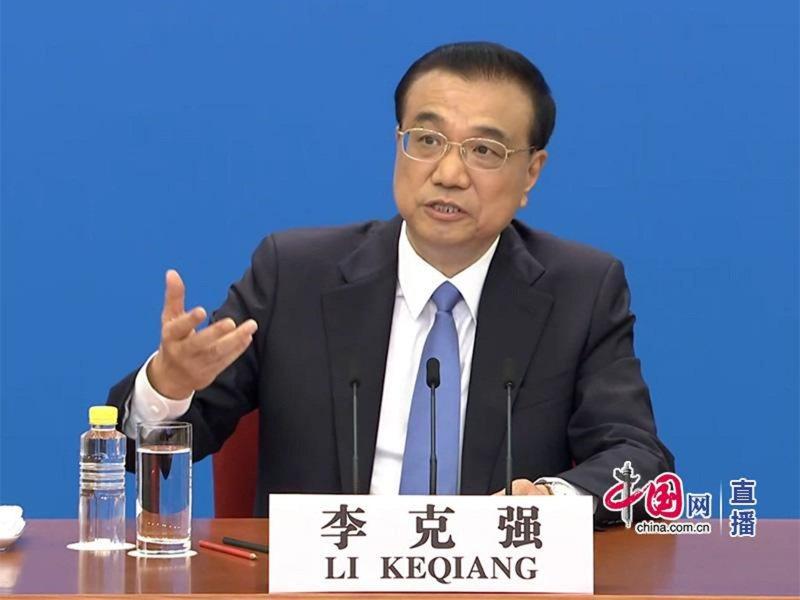 大陸國務院總理李克強。圖/中國網直播