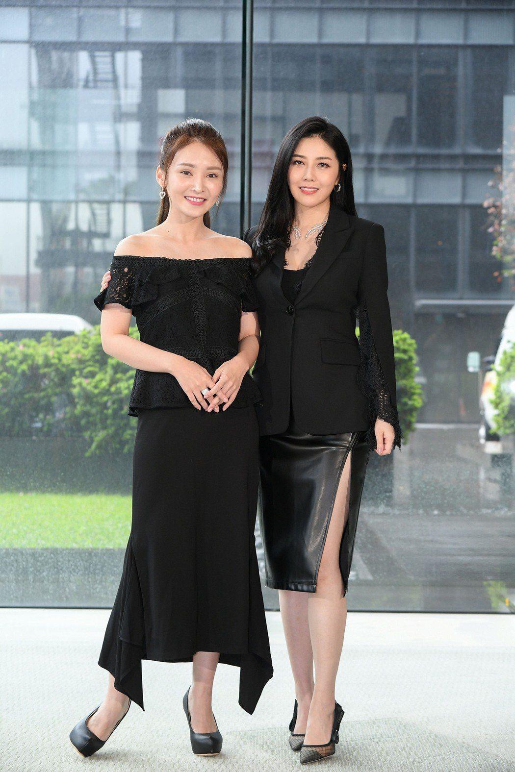 陳子玄(左)韓瑜第一次演母女。圖/三立提供