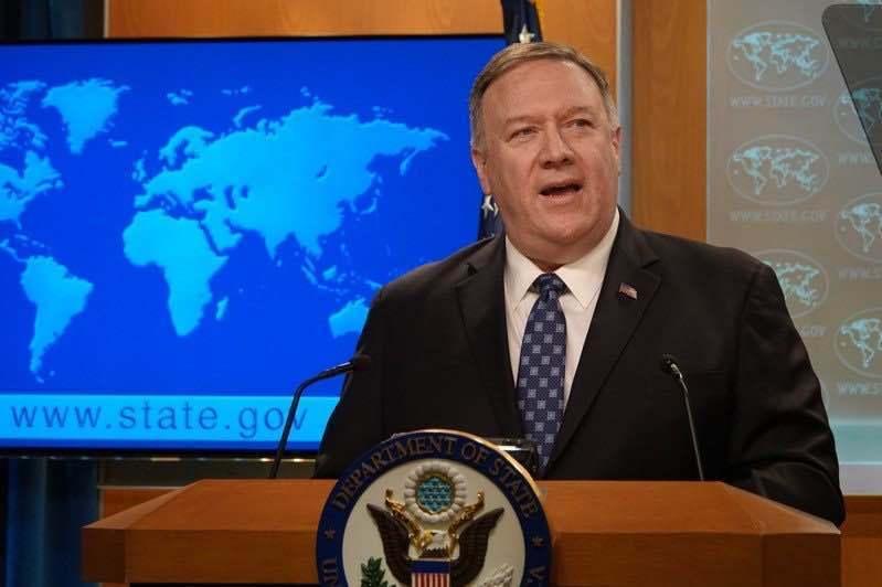 美國國務卿龐培歐。圖/取自本報資料照