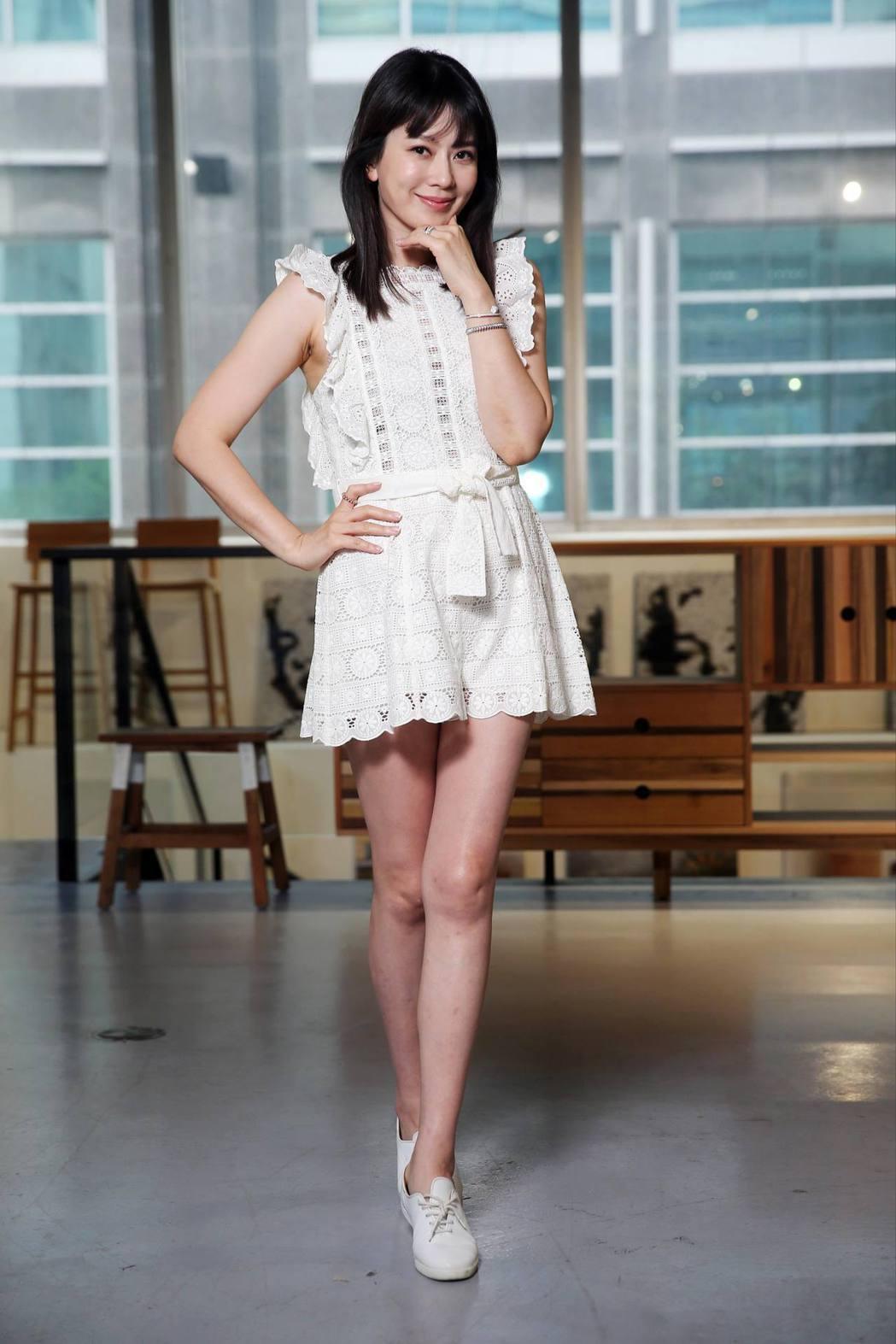 Melody如今是時尚媽咪,對流行文化很有看法。記者徐兆玄/攝影