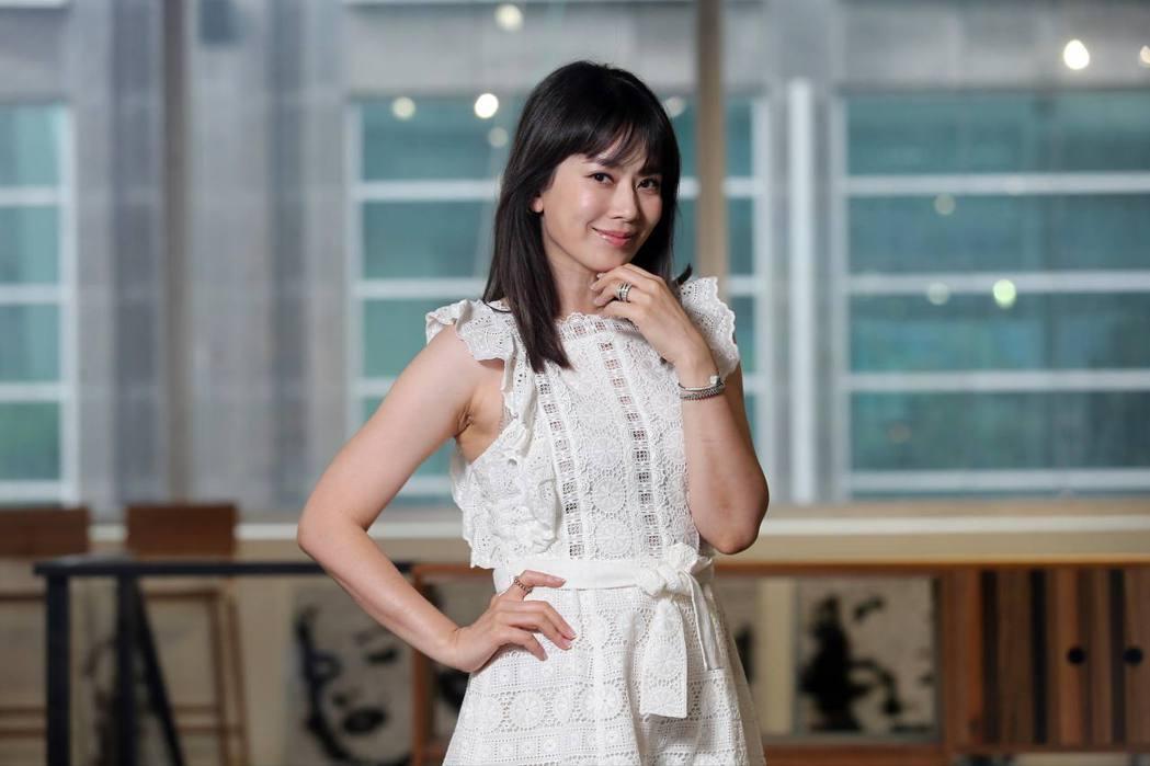 Melody41歲仍青春美麗。記者徐兆玄/攝影