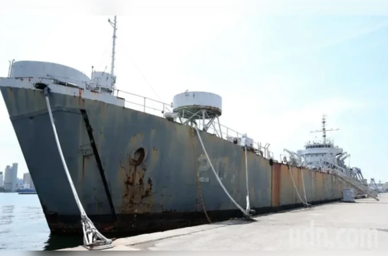 中海號軍艦。圖/本報系資料照