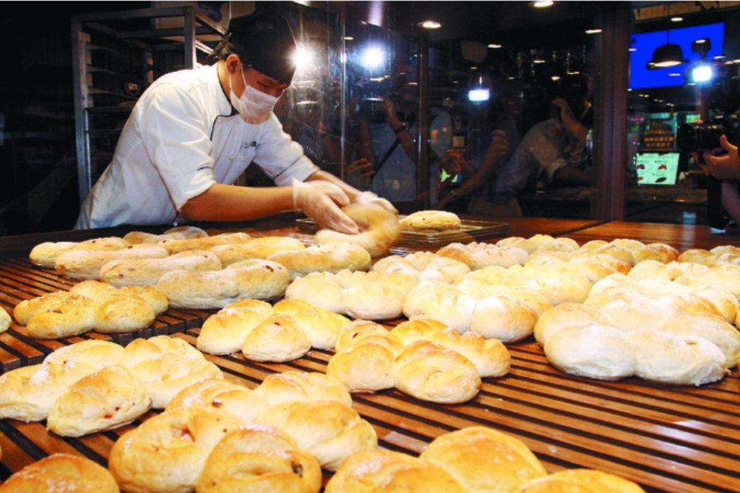 胖達人麵包添加人工香精,台北地院昨判賠八九七名消費者共五三八萬兩千元。圖/聯合報