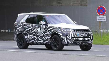 小改款Land Rover Discovery首次現蹤 油電動力將入列