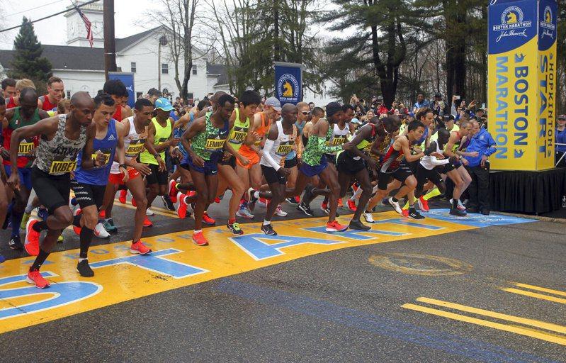 波士頓馬拉松今年確定因疫情取消,是124年來第一次。 美聯社