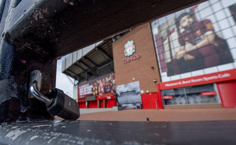 英超確定6月中復賽,各隊為確保安全已同意剩餘的比賽將閉門舉行。 歐新社