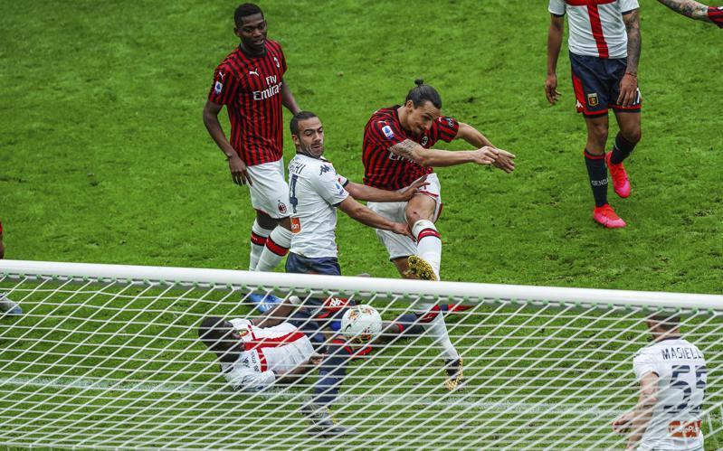 義大利甲級足球聯賽將於6月20日復賽。 美聯社