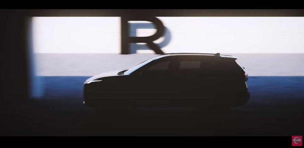 Nissan Rogue(X-Trail)。 摘自Nissan