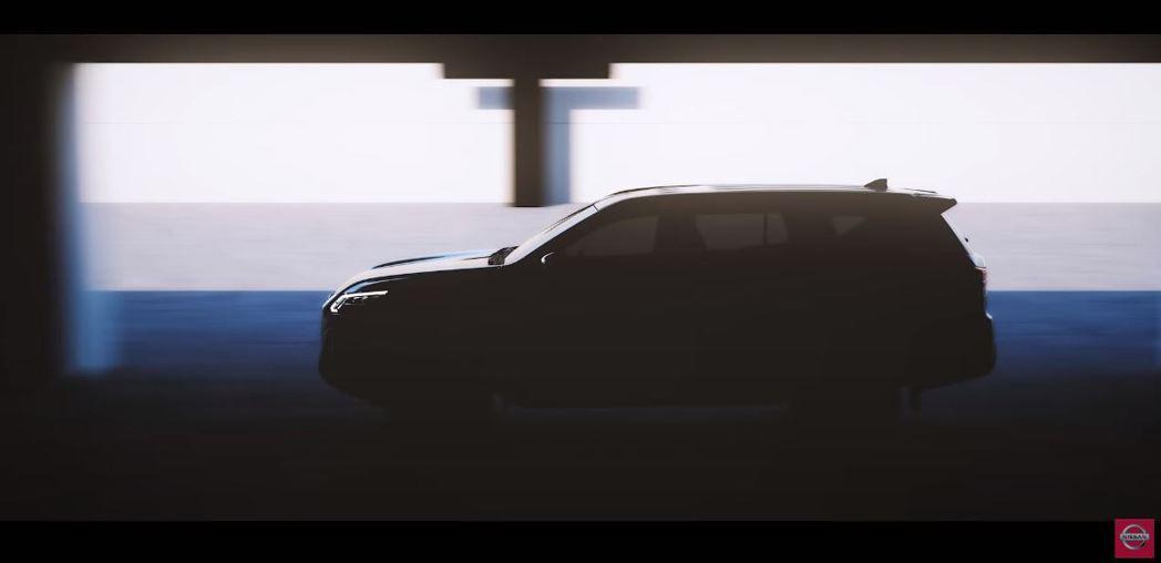 Nissan Terra。 摘自Nissan