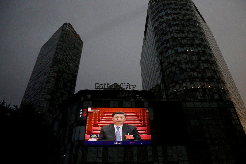 5月28日,攝於北京。 圖/路透社