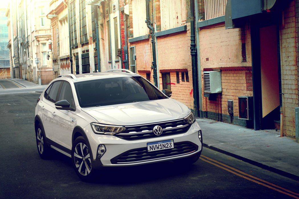 全新Volkswagen Nivus。 摘自Volkswagen