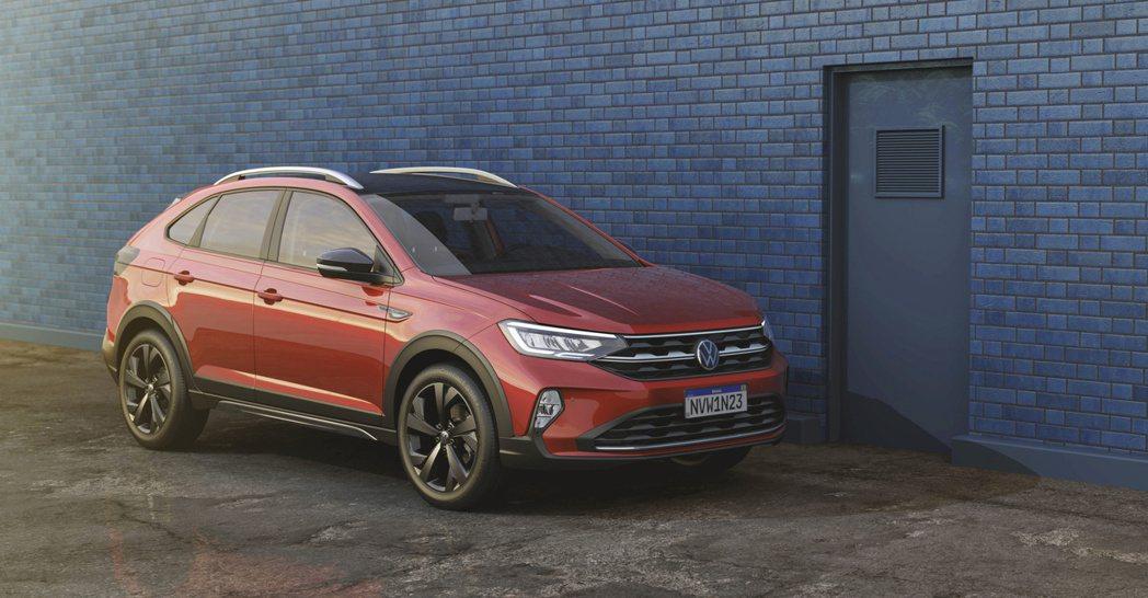 全新Volkswagen Nivus在南美洲開始販售後,預計於明年下半年還將進軍...