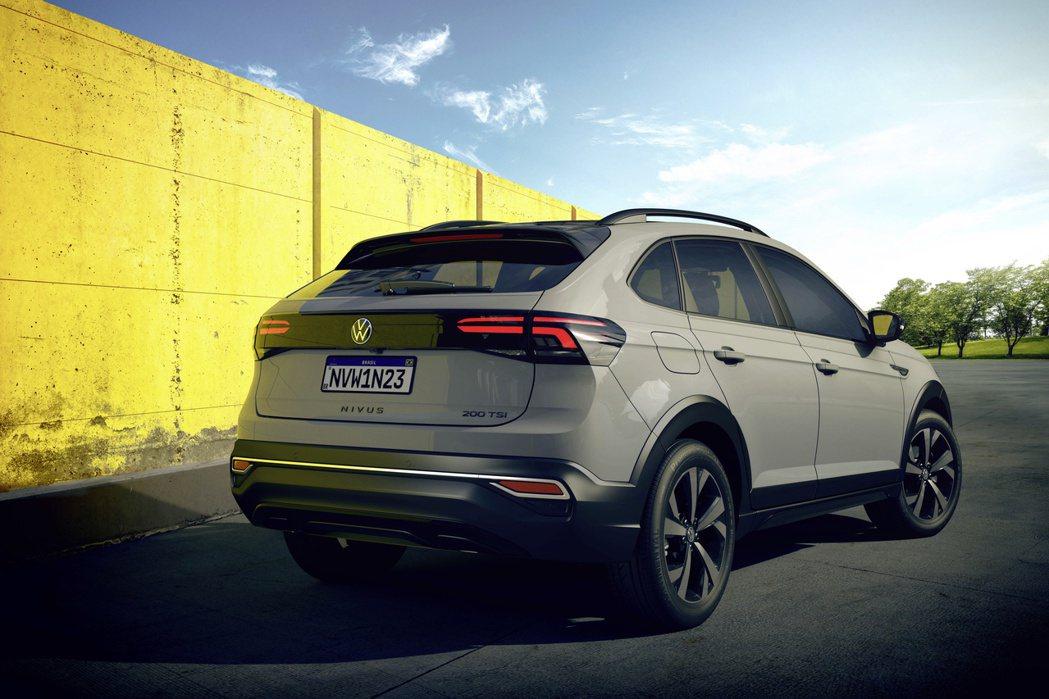 全新Volkswagen Nivus的美背造型很難不讓人多看他幾眼。 摘自Vol...