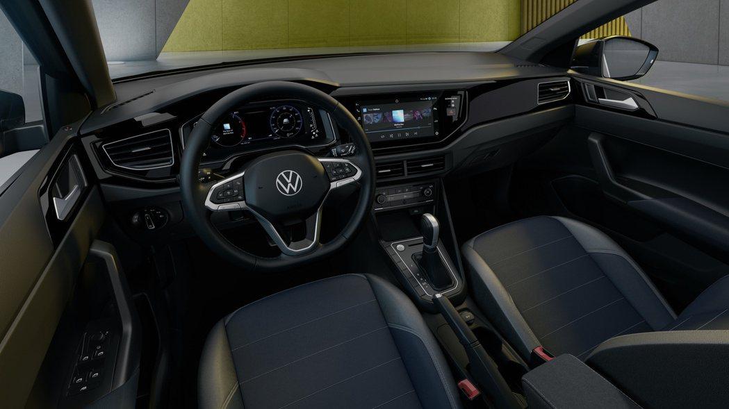 全新Volkswagen Nivus內裝。 摘自Volkswagen