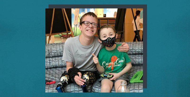 永不放棄!兩名抗癌小鬥士因遊戲結成好友,攜手對抗病魔