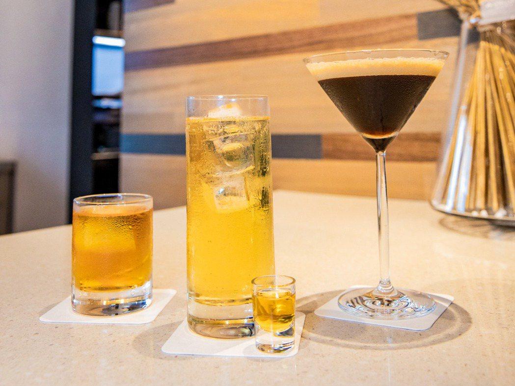 eslite café 七款獨家限定調酒,揉和台灣在地好茶、LAVAZZA咖啡豆...