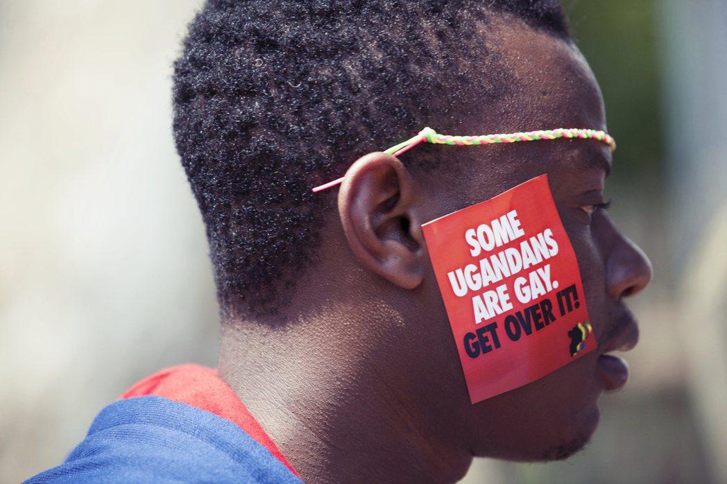圖為烏干達的反同志迫害示威,資料照片。 圖/美聯社