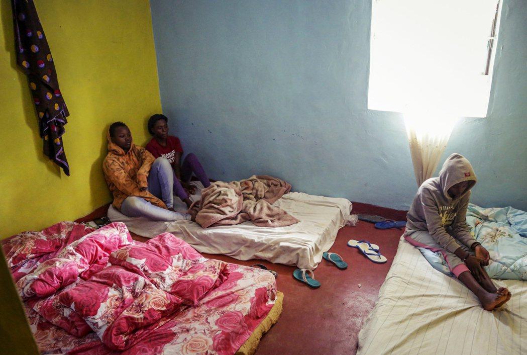圖為卡庫馬難民營內,非當事人。 圖/美聯社