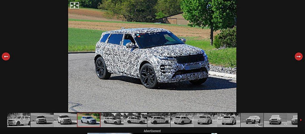長軸Land Rover Range Rover Evoque不僅能吸引年輕買家...