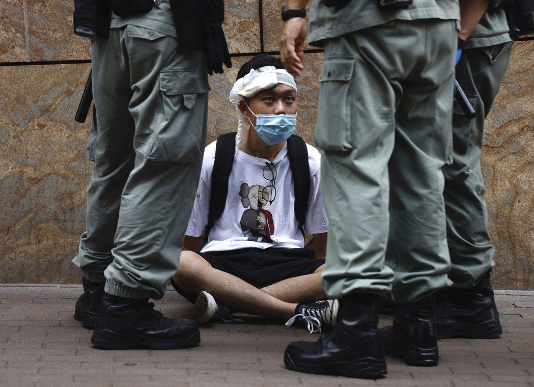 圖為香港反送中抗爭。 圖/法新社