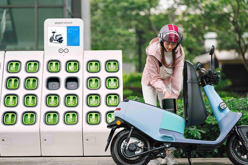 針對高里程用戶,Gogoro Network宣布推出全新電池資費方案。 圖/Go...