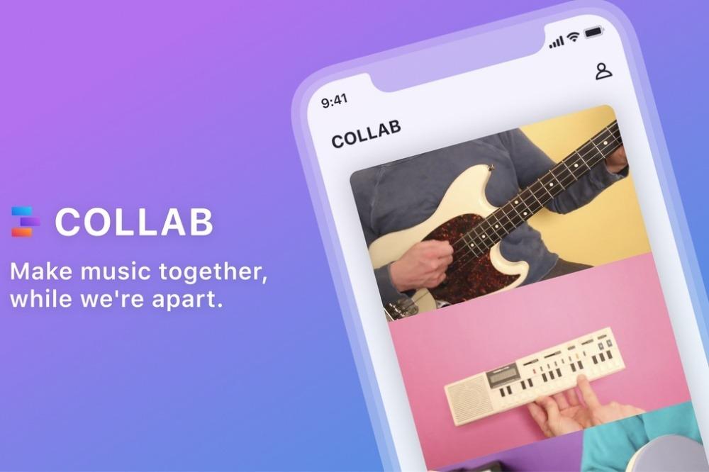 與朋友一同線上創作樂曲 Facebook NPE團隊打造共創演奏服務「Collab」   軟體情報   數位