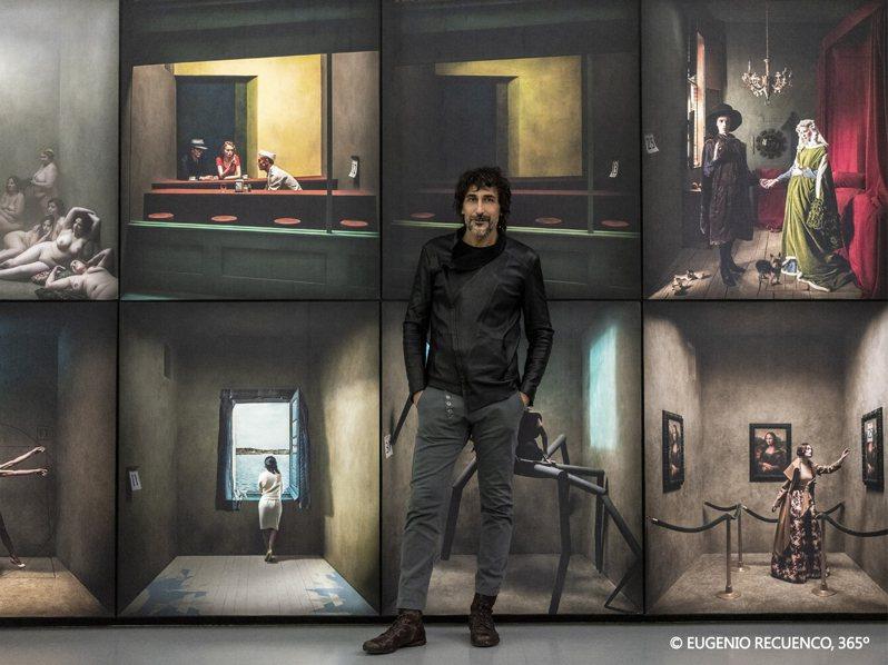 國際超現實藝術大師-尤傑尼歐最知名大作「365゚」今年暑假即將於台北華山盛大展出。圖/聯合數位文創提供