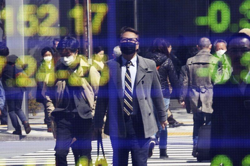 日本上月失業率2.6%。(美聯社)