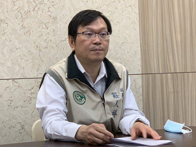 衛福部疾管署副署長莊人祥。記者陳雨鑫/攝影