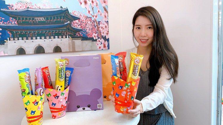 7-ELEVEN將於6月3日展開「日本Bourbon小熊品牌月」,「小熊貨架」上...