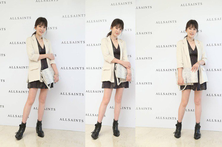 AllSaints選在微風信義百貨,開設亞洲首家概念店,找來時尚媽咪Melody...