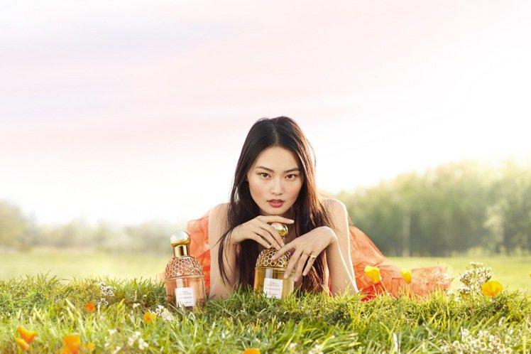 嬌蘭花草水語系列,2020夏季推出兩瓶新香水。圖/嬌蘭提供