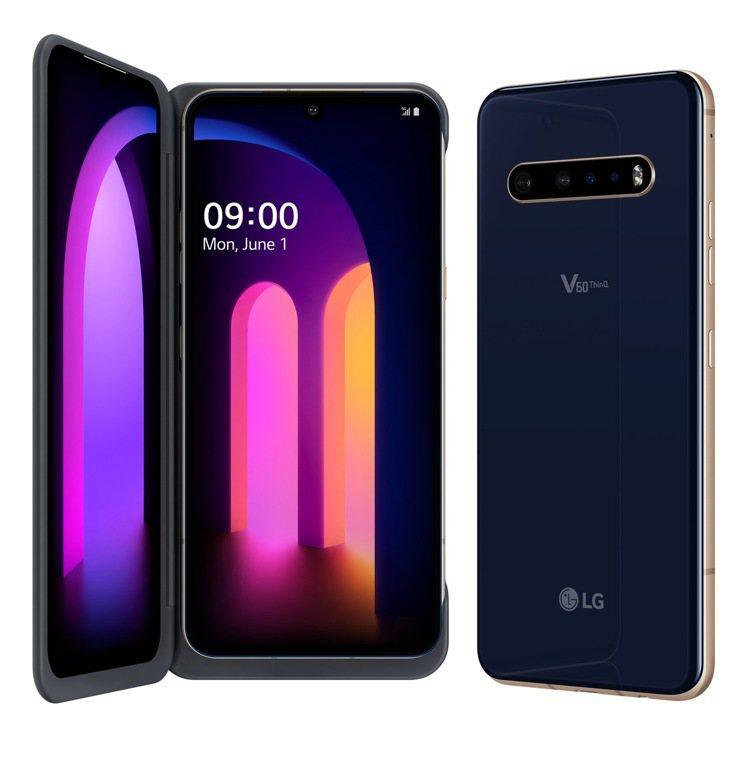 LG首款5G雙螢幕手機LG V60 ThinQ 5G Dual Screen將於...