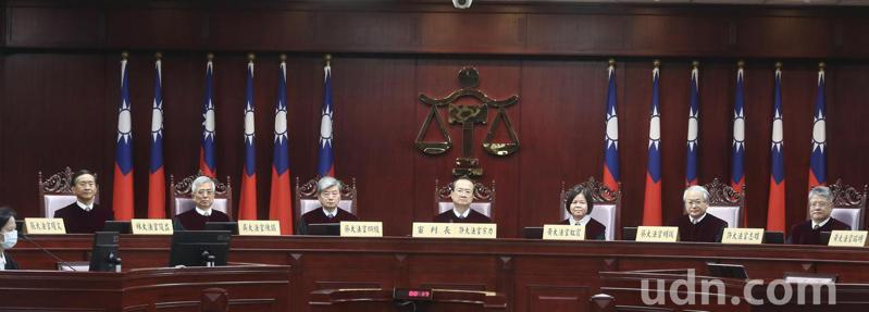 憲法法庭下午對通姦罪是否除罪釋憲。記者曾吉松/攝影