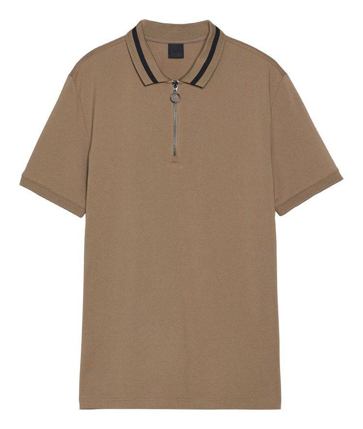 H&M COOLMAX®系列POLO衫699元。圖/H&M提供