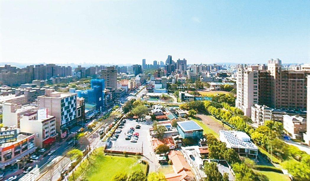 新竹縣竹北市新瓦屋生活圈,是科技人首次購屋和換屋的首選。信義/提供