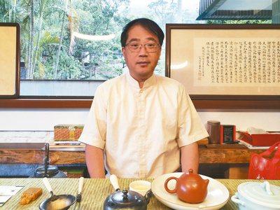 永固-KY董事長簡國釧。記者曾仁凱/攝影