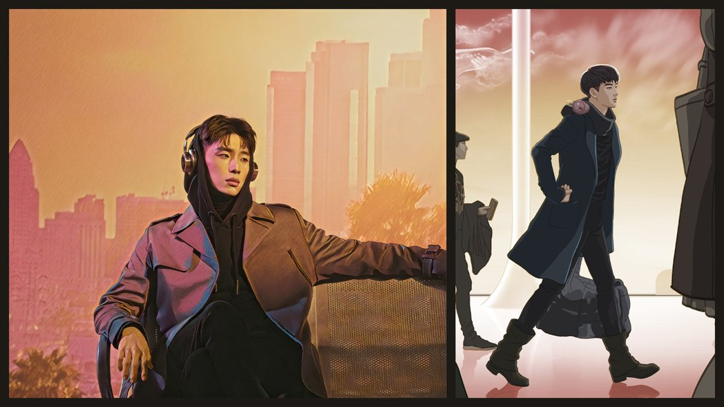 曹楊「機場」MV邀請繪製周杰倫「等你下課」MV的動畫師操刀,自虧長相被否定。圖/...