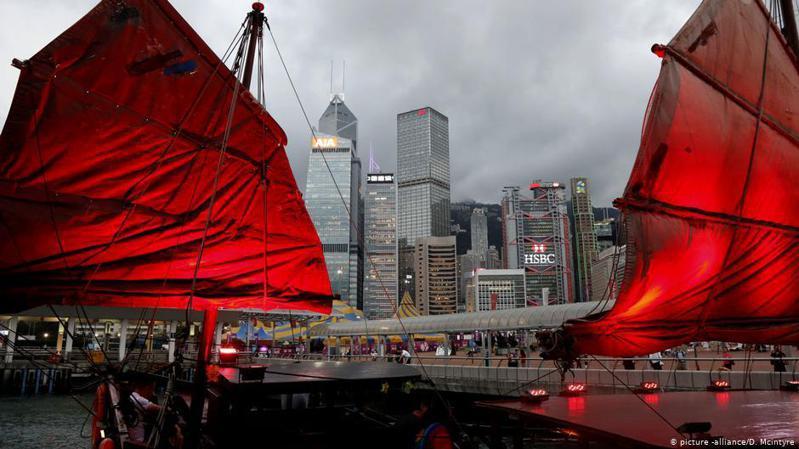 美國總統川普周五(5月29日)在白宮召開新聞發布會,針對中國計劃在香港實施國家安全法做出回應。圖/德國之聲中文網