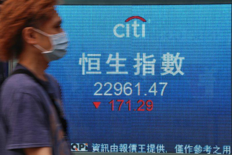 港股沽空率20%破紀錄 14本地藍籌股累跌一成。 香港中國通訊社