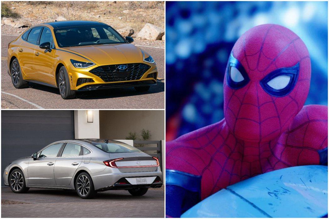 蜘蛛人新續集裡將有望看到Hyundai的新車置入! 摘自Hyundai