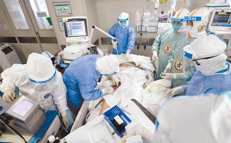截至29日24時,大陸31個省區市現有確診病例63例。圖/新華社資料照片