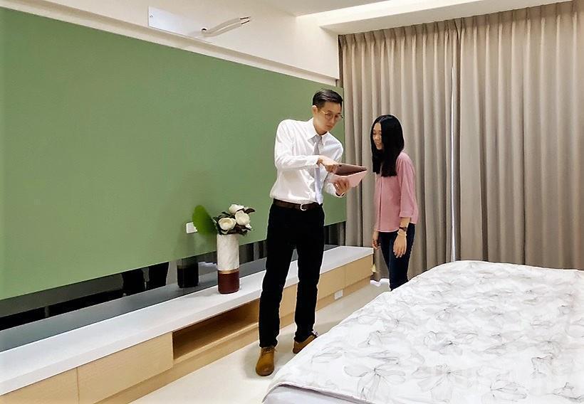 近期不動產市場熱絡,看屋買房相當熱絡。記者卜敏正/攝影